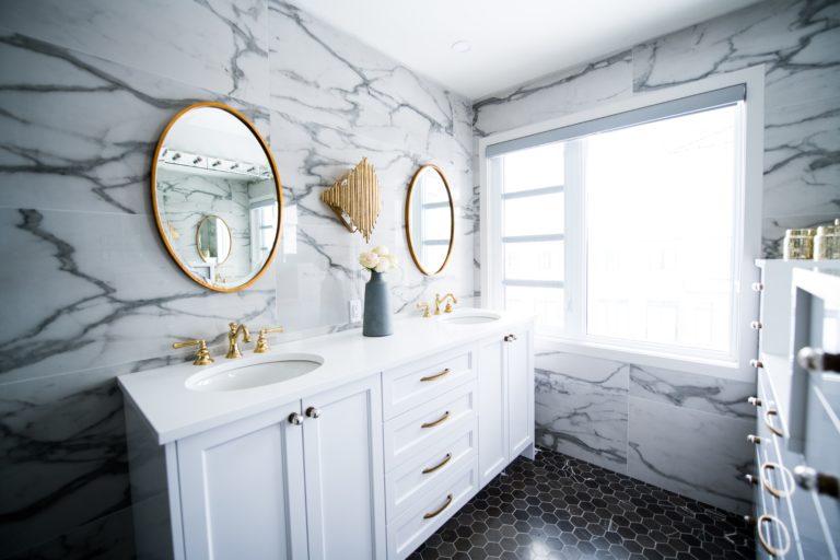 Interieur inspiratie badkamer marmer