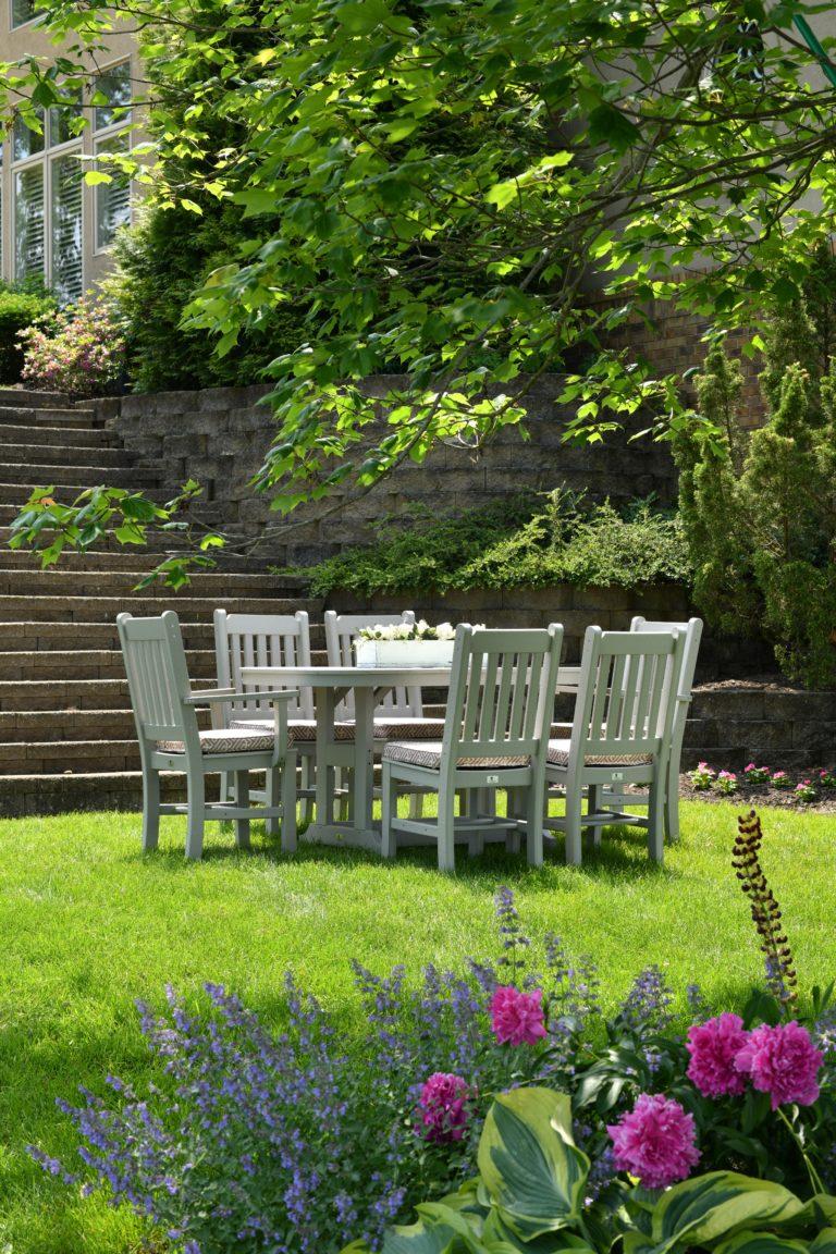 Groene tuin inspiratie